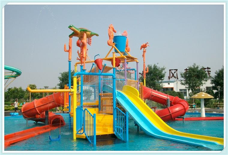 水上乐园儿童水屋水寨